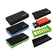 4USB 2.1A Power Bank Case 6x18650 Battery Charger DIY Box Case For Cell Phone