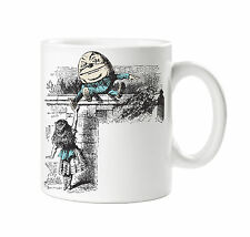 BATCH1 ALICE IN WONDERLAND THROUGH THE LOOKING GLASS HUMPTY DUMPTY PRINTED MUG