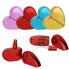 Travel Heart Refillable Perfume Bottle Atomizer Spray Scent Pump Empty Case 25ml