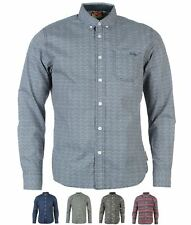 DI MODA Lee Cooper Long Sleeve All Over Pattern Textile Shirt Boys 55939922