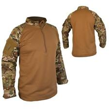 Combat Army Style Tactical Ubacs Shirt Btp Camo Airsoft Shirt Paintball Cadet
