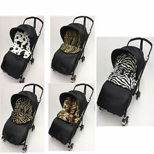 ANIMAL PRINT FOOTMUFF COMPATIBLE WITH BUGABOO BEE PLUS PUSHCHAIR/BUGGY