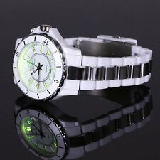 Super OHSEN MONTRE Homme Femme 7Coloré 8 Mode LED Light Quartz Sport Watch Blanc