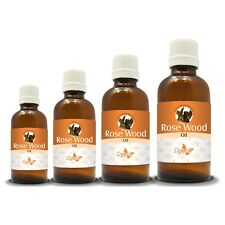 100% NATURAL ROSE WOOD ESSENTIAL OIL (Aromatherapy) choose from 15ml to 250ml