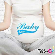 "T Shirt Maglia Premaman ""Baby Inside"""