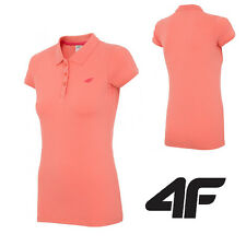 NEW 4F-Womens Short Sleeve Fitness Gym Runing POLO TENNIS T-Shirt Active SPORT
