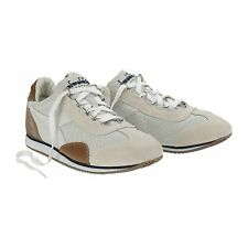 Diadora Heritage EQUIPE L PERF SW Bianco Sneakers Uomo Made in Italy