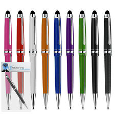Roller Ball Stylus Pen With Rubber Tip For Samsung 10.1 Galaxy Tab 2 10.1