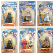 "Doctor Who Wave 3 Wave 4 3.75"" inch Character Figures Dalek - Multiple Choice"