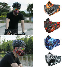 Anti Pollution Outdoor Motorcycle Bicycle Cycling Half Face Mask Carbon Filters