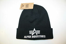 Alpha Industries 3D beanie men Herren 168910 /03 black neu Herbst/Winter 2016