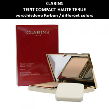 CLARINS - Teint Compact Haute Tenue SPF 15 - Kompakt Foundation - Make up - 10g