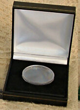 Black Display Case & Capsule for 1 x 1 oz GOLD KRUGERRAND or GOLD EAGLE