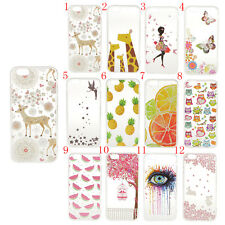 Ultra Slim Rubber Soft TPU Silicone Back Case Cover for iPhone 6 6s 4.7inch