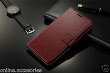 VINTAGE STYLISH THIN LEATHER FLIP WALLET COVER BACK CASE FOR VIVO Y51L / Y51