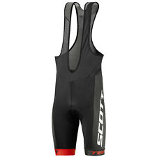Scott Salopette pantaloncini bici RC Team black red