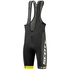 Scott Salopette pantaloncini bici RC Team black yellow