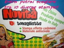 TOVAGLIETTA AMERICANA 30x45 MADE ITALY PP+PVC ASSORTI PLACEMAT TABLE TOVAGLIETTE