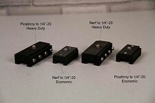 """Nerf® and Picatinny 1/4""""-20 Camera Mounts for Nerf® Blasters"""