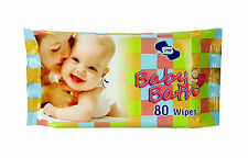 BABY BATH- Baby Wipes pkt of 80 wipes
