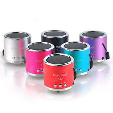 Speaker Mini Handfree Wired Portable Subwoofer FM Radio USB Micro SD TF Card MP3