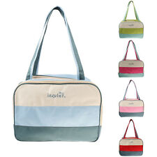 Color Block Large Mummy Bag Tote Shoulder Messenger Baby Nappy Change Diaper Bag