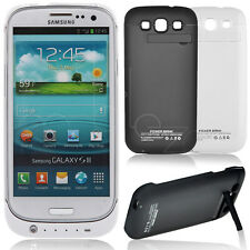 3200mAh External Backup Battery Charger Power Case Cover for Galaxy S3