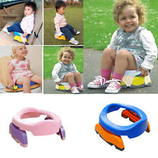 Portable Foldable Kids Potette Plus Home Travel Potty Seat with 10 PP Bags