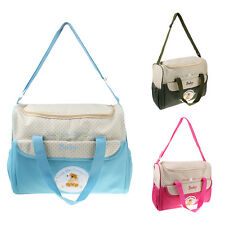 Multifunctional Mummy Bag Tote Shoulder Messenger Baby Nappy Changing Diaper Bag