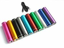 External Portable Power Bank USB Charger 2600mAh Battery for All Mobile Phones
