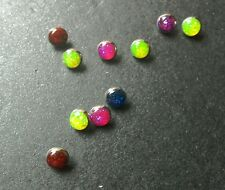 body piercing dermal/skin diver tops - glitter selection