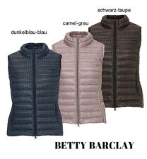 Betty Barclay Damen Weste Daunenweste Steppweste Neu Gr.36 38 40 42 44 Mode