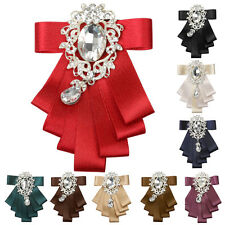 Men's Bridegroom Formal Bow tie Wedding Evening Party Dance Ribbon Neckwear