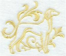 DOG TOWEL   SALUKI  EMBROIDERED     4 COLOURS 12 BREEDS  BNWOT