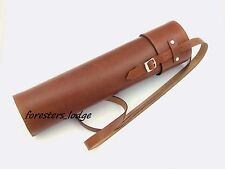 Leather Rifle Sniper Scope Case, guard, protection, hunting, shooting, rifle