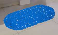 Pebble Non Anti Slip Pad Bath Shower Mat Large Bathroom Bathtub Suction PVC UK