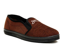 Liberty Gliders JOGGING D.BROWN Slip Ons Mens  Casual Shoes (JOGGING-D.BROWN)