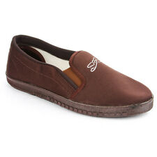 Liberty Gliders JOGGING-E BROWN Slip Ons Mens  Casual Shoes (JOGGING-E-BROWN)