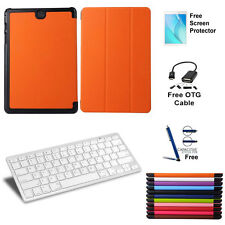 5 in1 Bluetooth Keyboard PU Leather Case For Samsung Galaxy Tab A 8.0 T350/P350