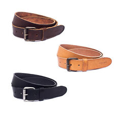 Jack & Jones JACJAKOB LEATHER BELT NOOS Herren Gürtel Leder Braun Schwarz