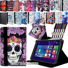 New FOLIO LEATHER STAND COVER CASE For ARGOS Alba 7 / 8 / 10 inch Android Tablet
