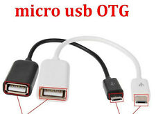 Micro USB Male To USB Female OTG Adapter Cable For Android Mobile PC- All Colour