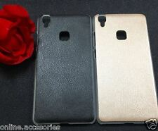 """Premium Ultra Thin Faux Leather & PC Back Cover Case Shell  For VIVO V3 MAX 5.5"""""""