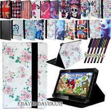 New FOLIO LEATHER STAND COVER CASE For Various Fusion5 Android / Windows Tablet
