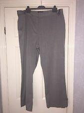 Ladies Smart Tailored Ann Harvey Grey-black trousers 20 Work Interview + Size