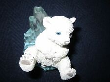 'Slip'n Slide'n Polar Playmates'  Bear Sculpture~1996~EXC