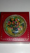 Vintage Hand Painted Brooch, Signed by the Dutch Artist JAAP*****
