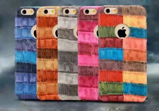 mStick Colored Crushed PU Leather Back Cover Case For Apple iPhone 5 5S 5SE