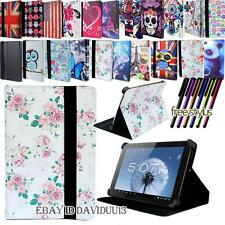 "Folio Folding Leather Stand Cover Case For Various 7"" 9"" 10"" Excelvan Tablet PC"