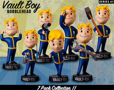 Fallout Shelter 4 Vault Boy Bobbleheads New Box Complete Figure Collection Toy